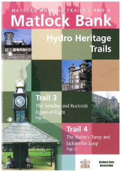 Matlock Hydro Heritage Trails