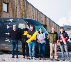 A model plane business that started small is really taking off, exporting to 58 countries from the Derbyshire Dales.