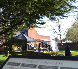 See below the photo album from a busy relaunch day for our Ashbourne Thursday stall market at a new trial venue.