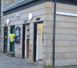 Alternative facilities are being made available for local people and visitors during the upcoming two week closure of Bakewell's main toilet block.