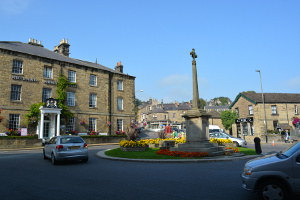 View of Bakewell Town Centre