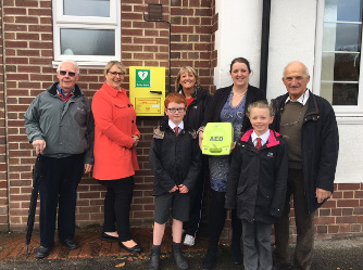 Clifton Parish Council benefitted from £400 form the Local Projects Fund and has recently installed a lifesaving piece of equipment, a defibrillator in their village of Clifton