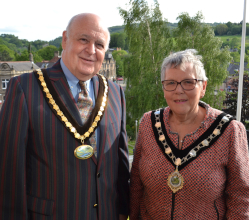 Councillor Tony Morley has been elected as Derbyshire Dales District Council's civic leader in the coming year.