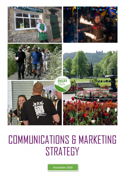 Communications Marketing Strategy updated November 2020