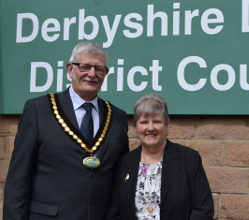The Civic Chairman of the Derbyshire Dales, Councillor Steve Flitter is holding a charity auction in aid of the local Air Ambulance Service at Matlock Town Hall on Monday 9 October.