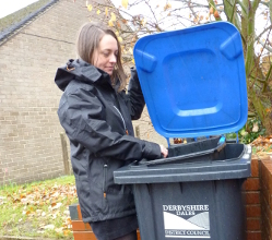 Derbyshire Dales residents are reminded that their recycling bins won't be emptied if paper and cardboard recycling is mixed with other recyclable materials for household collections.
