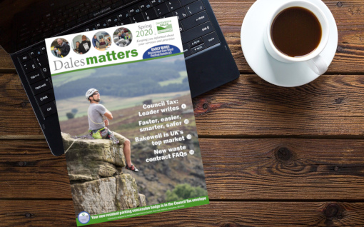 Dales Matters on coffee table 510px