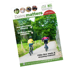 The Autumn edition of our Dales Matters publication is dropping through letterboxes across the Derbyshire Dales this week.