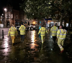 Your District Council, whose staff worked around the clock tackling last week's floods, are urging local residents and businesses to be ready for a possible repeat.