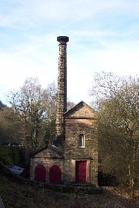 High Peak Pumping House