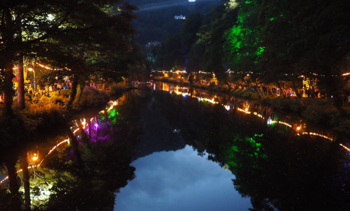 Illuminated Derwent by Simon Beynon 510px