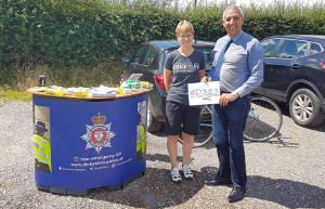 Residents in some of the more rural villages surrounding Ashbourne have been learning all about how to protect their property following a crime prevention roadshow.