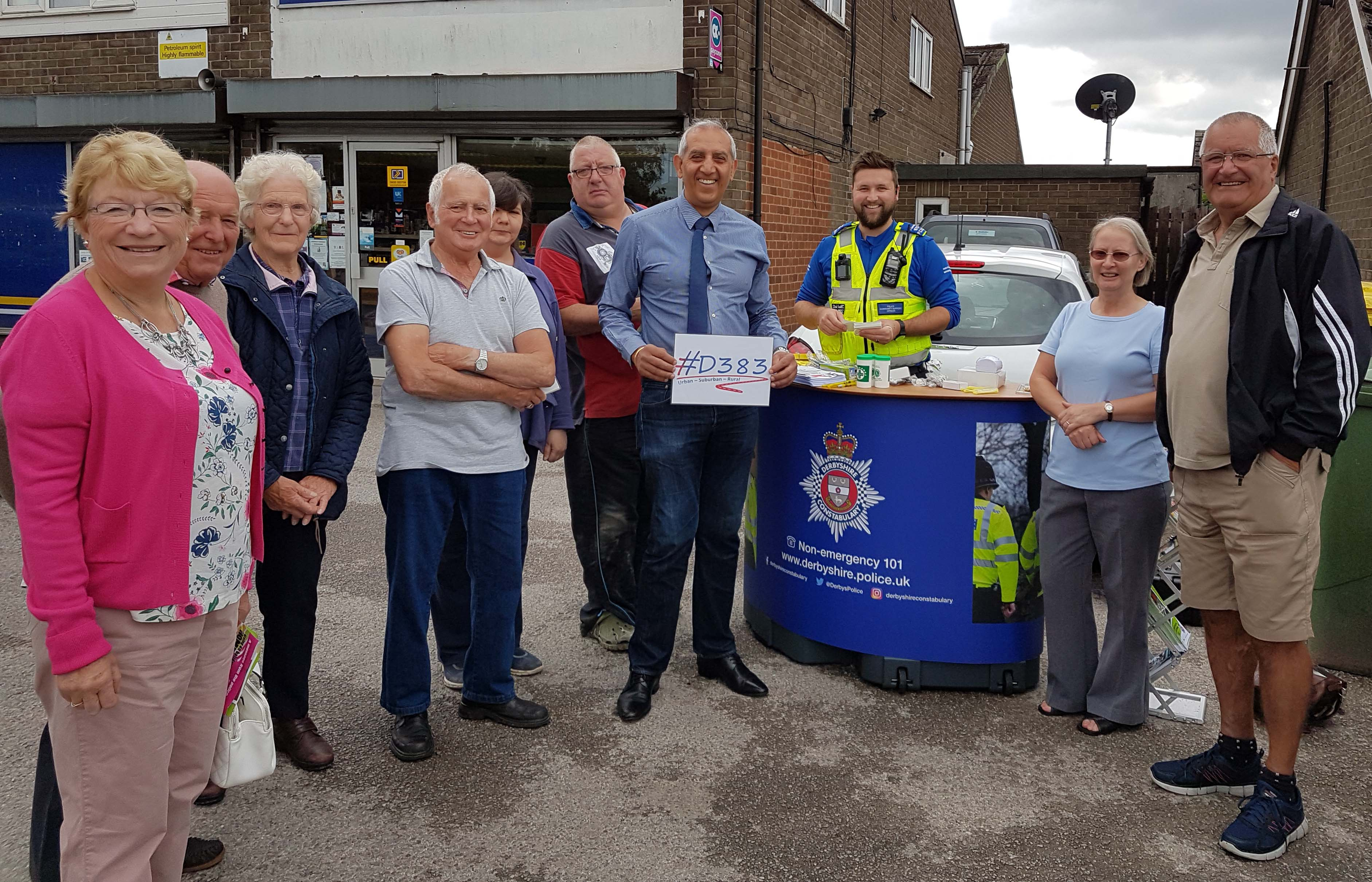 Op Illuminate Hulland Ward 4 Jul 17