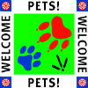 Pets Welcome logo 100 wide