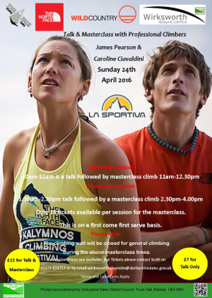 James Pearson  and Caroline Ciavaldini Poster