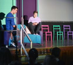 Online bullying, grooming and the dangers of social media are being brought to life in a thought provoking theatre show for students at secondary schools in the Derbyshire Dales.