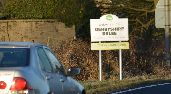 In February 2018 Derbyshire Dales District Council replaced 16 welcome signs on the district's border - and these are available to be sponsored as part of a two-year agreement.